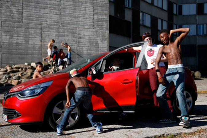 Geronimo voiture rouge