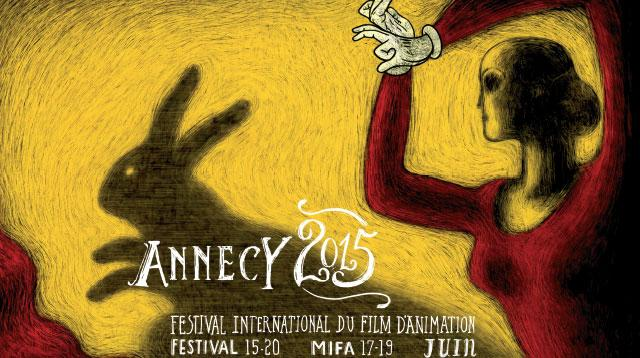 Affiche festival Annecy 2015