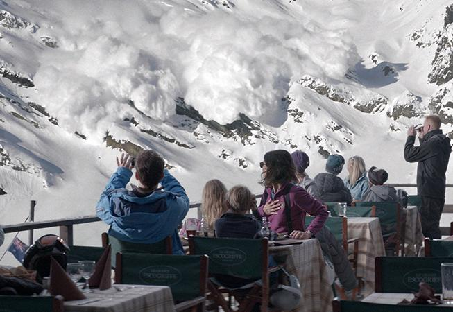 Force majeure Avalanche